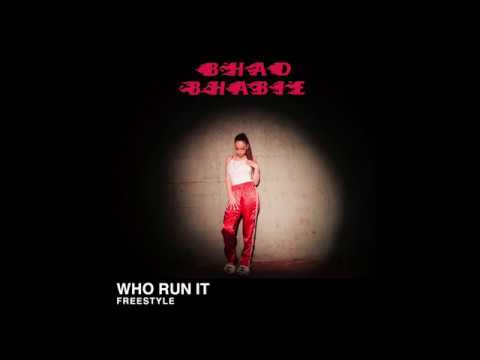 "BHAD BHABIE ""Who Run It"" Freestyle Official Audio 