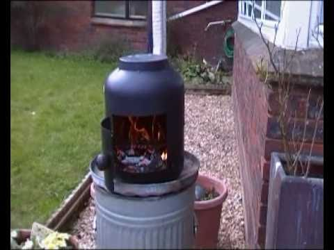 How I Made My Pot Belly Stove Youtube