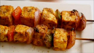 Paneer tikka in oven recipe