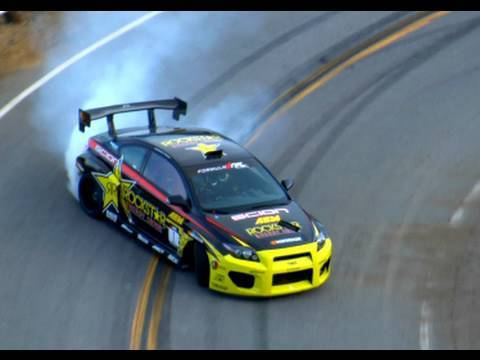 Behind The Scenes - Street Drift: Mulholland with Tanner Foust