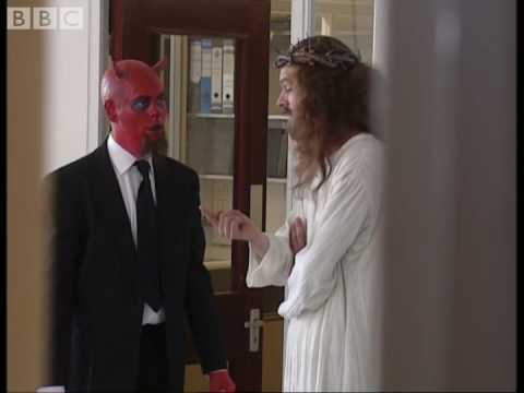 Office Politics: Jesus vs the Devil - Big Train - BBC comedy