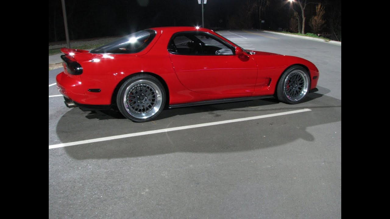 comparing and contrasting the 3rd generation or 2nd generation mazda rx 7