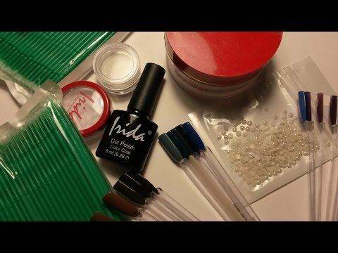 Ногтевые покупочки: IRIDA и Aliexpress