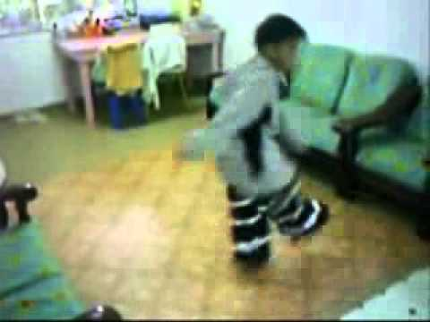Pro Shuffle Dance - Young Asian Boy video