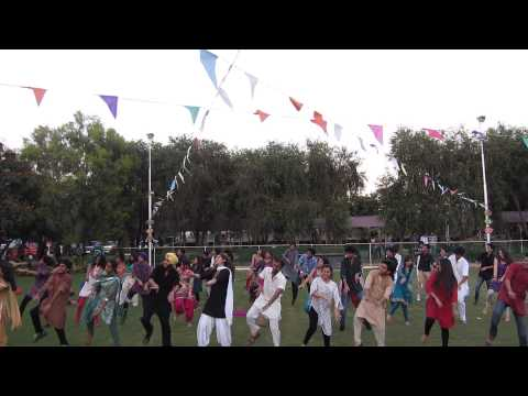 group dance during baisakhi on look lak main ho gaya sharabi...
