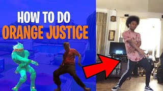 HOW TO DO ORANGE JUSTICE