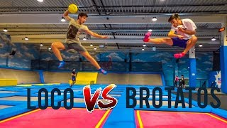 Epische Trampolin Challenge vs Brotatos