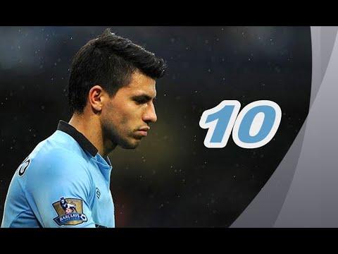Sergio Aguero Top 10 Goals