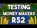 Testing Money Making Methods From RS2! (2005) - Oldschool Runescape Money Making Guide [OSRS]