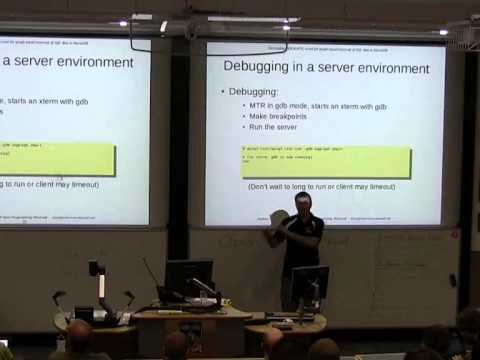 Developing OQGRAPH, a tool for graph based traversal of SQL data in MariaDB [linux.conf.au 2014]