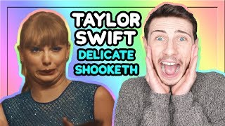 Download Lagu TAYLOR SWIFT - Delicate (Music Video Reaction) Gratis STAFABAND