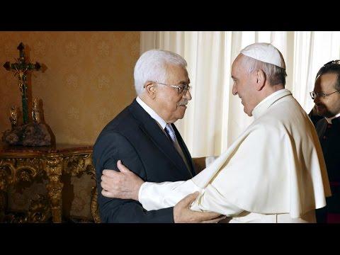 Quand Mahmoud Abbas rencontre le pape François