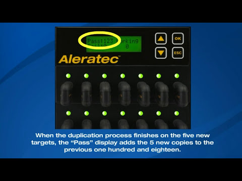 Aleratec 1:118 USB COPY TOWER SA USB FLASH DRIVE DUPLICATOR  # 330...