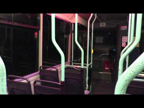 Join me aboard the very tuneful First Devon & Cornwall Optare Solo 53011 (W811 PAF) on local Dartmouth circular service 90 at night around Townstall, and bac...