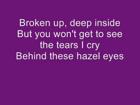 Kelly Clarkson - Behind These Hazel Eyes (with Lyrics)