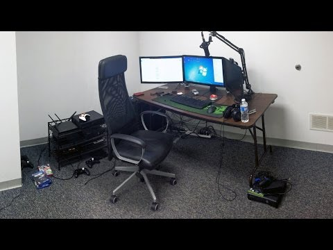 TmarTn Enterprises Office! (Updated Setup Video)