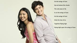 On The Wings of Love - OST with Lyrics - Soundtrack - JaDine