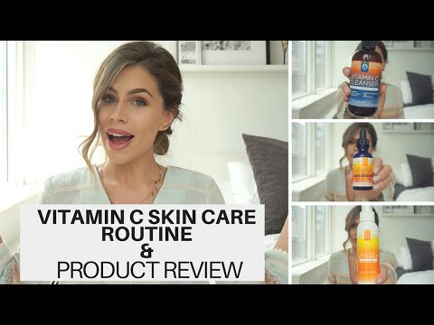 Vitamin C Skincare Routine & Product Review   Does Jennifer Lawrence use this stuff?!!