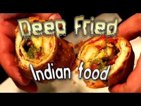 Deep Fried Indian Food