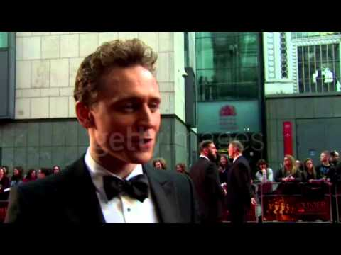 Tom Hiddleston on Coriolanus. Olivier Awards 2014 Interview