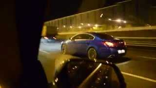 BMW 328GT 245 hp vs Opel Insignia OPC 325 hp