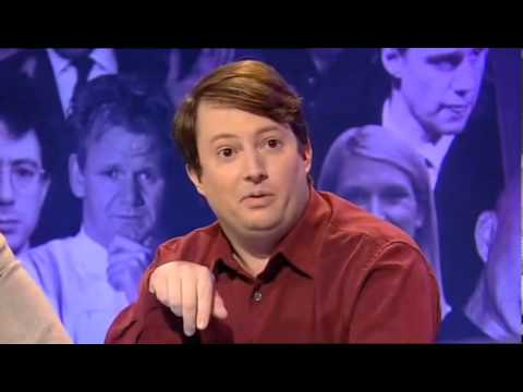 The Big Fat Anniversary Quiz - Richard Ayoade's and David Mitchell's teamname