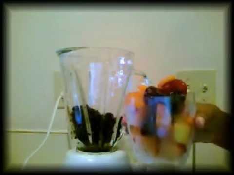 healthy frozen fruit juice