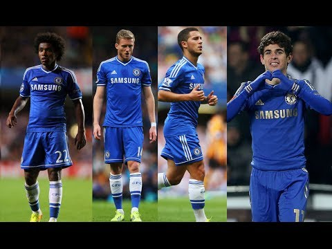 Willian ● Hazard ● Schurrle ● Oscar ● Quartet of Brilliance HD