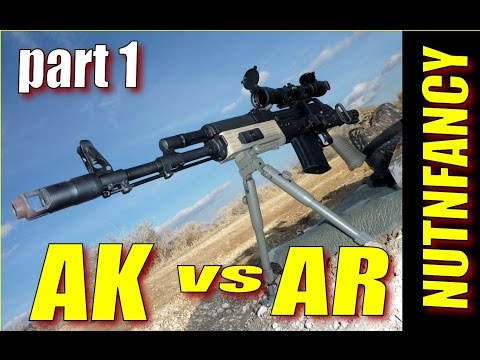 AK-47 vs AR-15 Part 1, by Nutnfancy