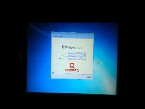Como Formatear una Laptop de la marca Compaq