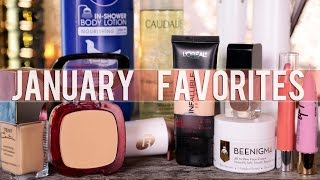JANUARY 2015 FAVORITES || GlamLifeGuru
