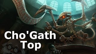 [S5/D1] Jurassic Cho'Gath Top, Ranked Game Commentary!