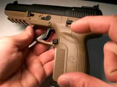 Fn Five-Seven pistol: Long Range Firepower, Part 3 Video