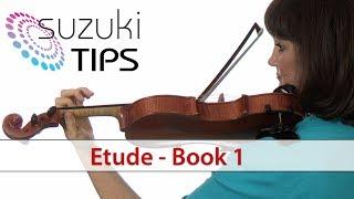 Etude - Suzuki Violin Book 1 Learning Tips