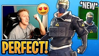 Tfue BUYS & REACTS to the *NEW* Verge Skin and Clean Cut Pickaxe! - Fortnite Best and Funny Moments