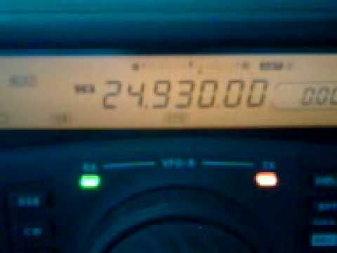 International Beacon Project on 12 M - CS and YV
