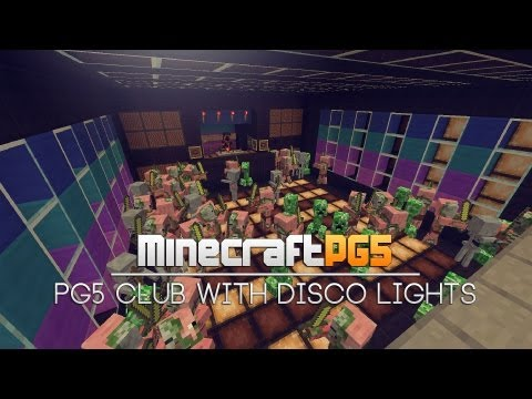 PG5 Club with Disco Lights – Light System – Minecraft – 2MineCraft.com