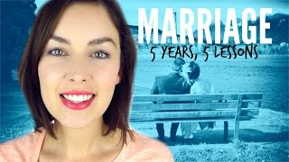 5 LESSONS IN 5 YEARS OF MARRIAGE | AmandaMuse
