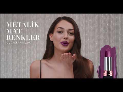 Dilan Çiçek Deniz ile Avon Metalik Mat Ruj |TV Reklamı