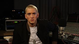 Eminem Video - Eminem. Zane Lowe. Part 1.