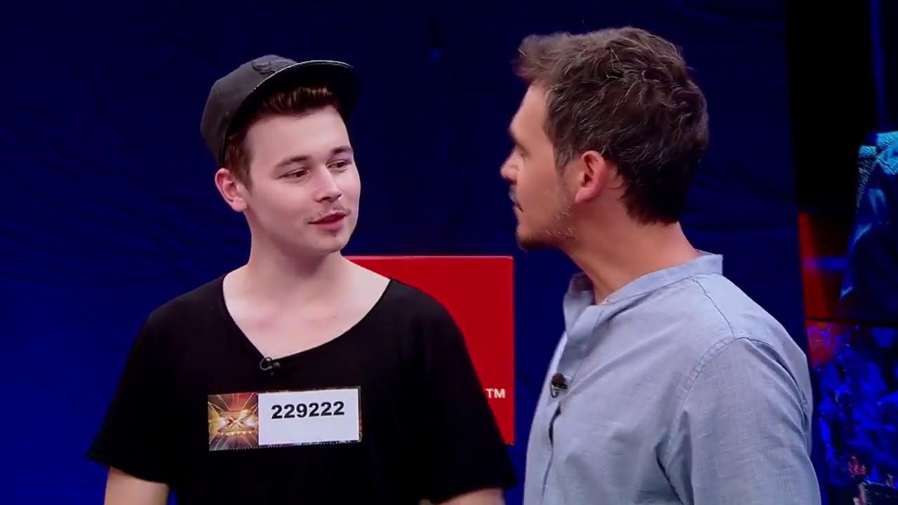"""""""X Factor este un concurs unde vii, cânţi şi pleci celebru"""". Răzvan Șurche a impresionat juriul"""