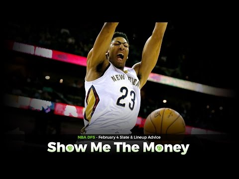 NBA Daily Fantasy Basketball: Feb 4 DFS Tinder & Lineup Advice