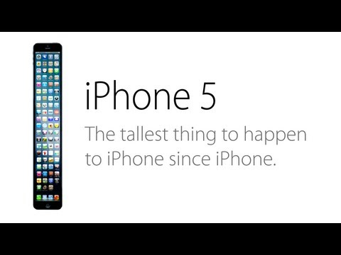 The Iphone 5s (parody) Ad: A Taller Change video