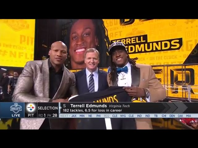 Ryan Shazier Annoucnes the Steelers 2018 1st Rd. Draft Pick  NFL