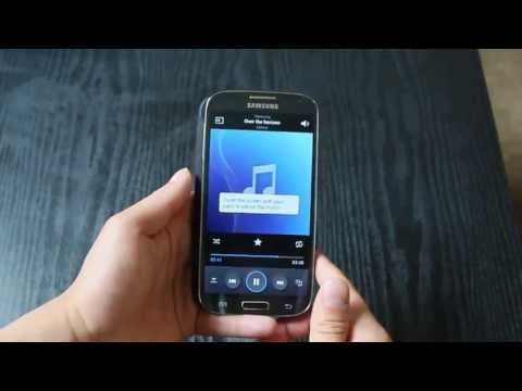 Samsung galaxy s4 features  (Air gestures. smart pause & screen capture)