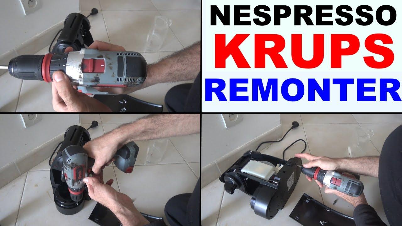 Demontage Nespresso Krups u Nespresso Krups Comment