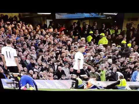 Chelsea vs Tottenham Eric Lamela stamp on Cesc Fabregas