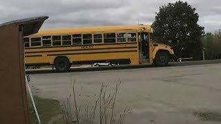 Caught on cam: Reckless driving past stopped school bus