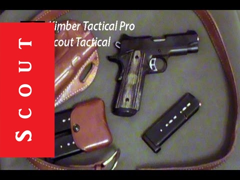 Kimber Tactical Pro II 45 ACP Pistol Review - FULLY LOADED EXCELLENCE - Scout Tactical