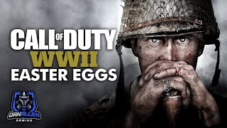 Call of Duty WW2 - Best Easter Eggs and Secrets